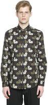 Ports 1961 Star Camouflage Cotton Poplin Shirt