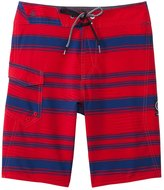 Volcom Boys' Stone Mod Stripe Boardshort (8yrs20yrs) - 8139182