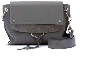 Mint Velvet Marnie Grey Leather Bag