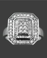 Diamond Ring in 14k White Gold (1/2 ct. t.w.)