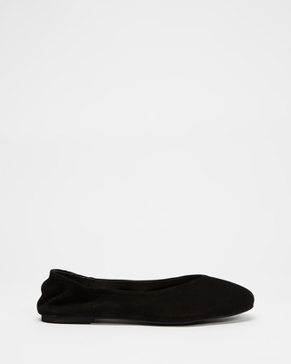 Walnut Melbourne Becca Leather Ballet Flats