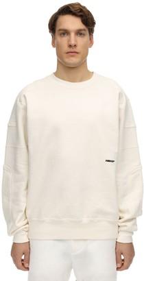 Ambush Logo Embroidered Cotton Sweatshirt