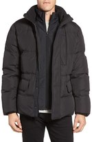 Marc New York Men S Iridescent Nylon Down Filled Quilted Jacket 71