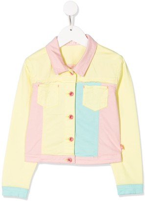 Billieblush Colour-Block Denim Jacket