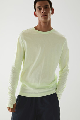 Cos Organic Cotton Long-Sleeve Technical Top