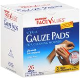 Harmon Face ValuesTM 25-Count 3-Inch x 3-Inch Sterile Gauze Pads