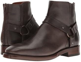 Frye Weston Harness (Charcoal Oil Tanned Full Grain) Men's Boots