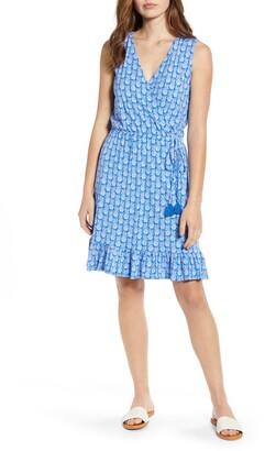 Tommy Bahama Fineapple Sleeveless Cotton Blend Dress