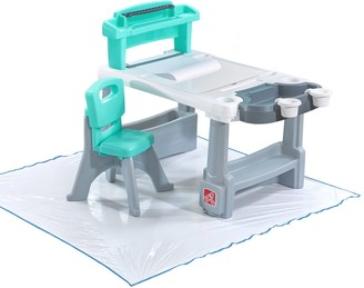 Step2 Step 2 Deluxe Creative Projects Kids' Art Desk with Splat Mat