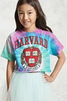Forever 21 FOREVER 21+ Girls Harvard Cropped Tee (Kids)