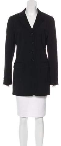 Dolce & Gabbana Wool Notch-Lapel Coat