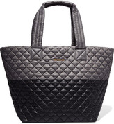 M Z Wallace Metro Two-tone Quilted Shell Tote - Gray