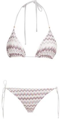 Missoni Zigzag Halterneck Bikini