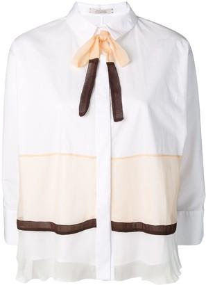 Schumacher Dorothee colour-block fitted shirt