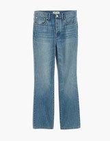 Madewell Tall Rigid Slim Demi-Boot Jeans in Banter Wash