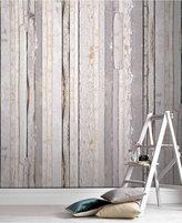 Graham & Brown Reclaimed Wood Wall Mural Wallpaper