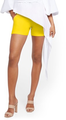 New York & Co. Whitney High-Waisted Pull-On 4-Inch Short