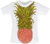 Karen Brost Short Sleeve Pineapple Print Tee