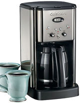 Cuisinart Brew Central 12 Cup Programmable Coffeemaker Black Chrome