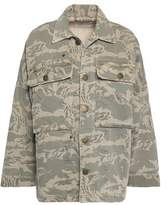 Current/Elliott The Militia Printed Cotton-Blend Twill Jacket