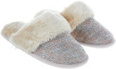 Monsoon Noelle Knit Mule Slippers