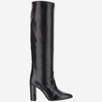 Paris Texas Pointed Toe Knee-High Boots