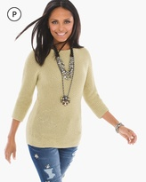 Chico's Shine Detail Shannon Pullover