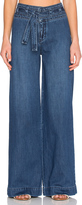 Free People Belted Flare Jean