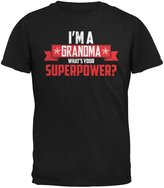 Old Glory I'm A Grandma What's Your Superpower Adult T-Shirt