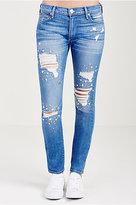 True Religion Super Skinny Crystal Womens Jean