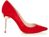 Sophia Webster Coco flamingo-heel suede pumps