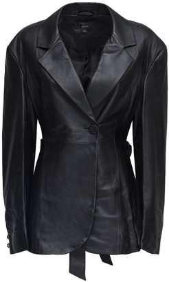 Ellery Single Breast Leather Jacket