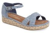 Toms Girl's Harper Wedge Sandal
