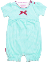 Kushies Aqua I Love Spring Romper - Infant