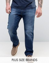 Wrangler Plus Greensboro Regular Fit Straight Leg Jean