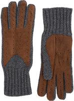 Barneys New York Women's Driving Gloves-BROWN