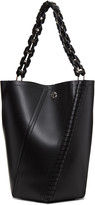 Proenza Schouler Black Medium Hex Bucket Bag