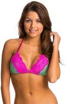 Beach Bunny Sweet Desire Triangle Bikini Top 8118608