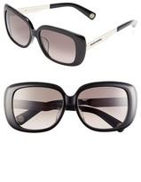 Marc Jacobs 57mm Oversized Sunglasses