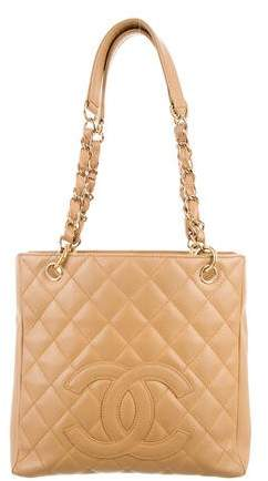 Chanel Caviar Petit Shopping Tote