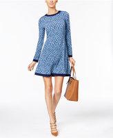 MICHAEL Michael Kors Printed A-Line Dress