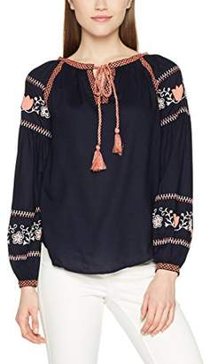 Dorothy Perkins Women's Emboidered Boho Blouse,Size
