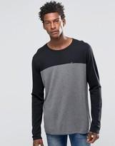 Hilfiger Denim Jumper With Colour Block In Black