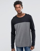 Tommy Hilfiger Sweater With Color Block In Black