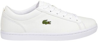 Lacoste Straigtset BL 1 White Leather Sneaker