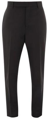 Rick Owens Austin Straight-leg Crepe Trousers - Black
