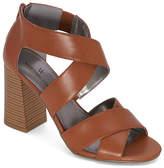 Worthington Womens Bassett Heeled Sandals