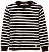 Armor Lux Boys' Striped Pullover - Blue -