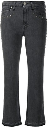 Love Moschino Studded Crop Jeans