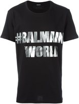 Balmain #BalmainWorld T-shirt